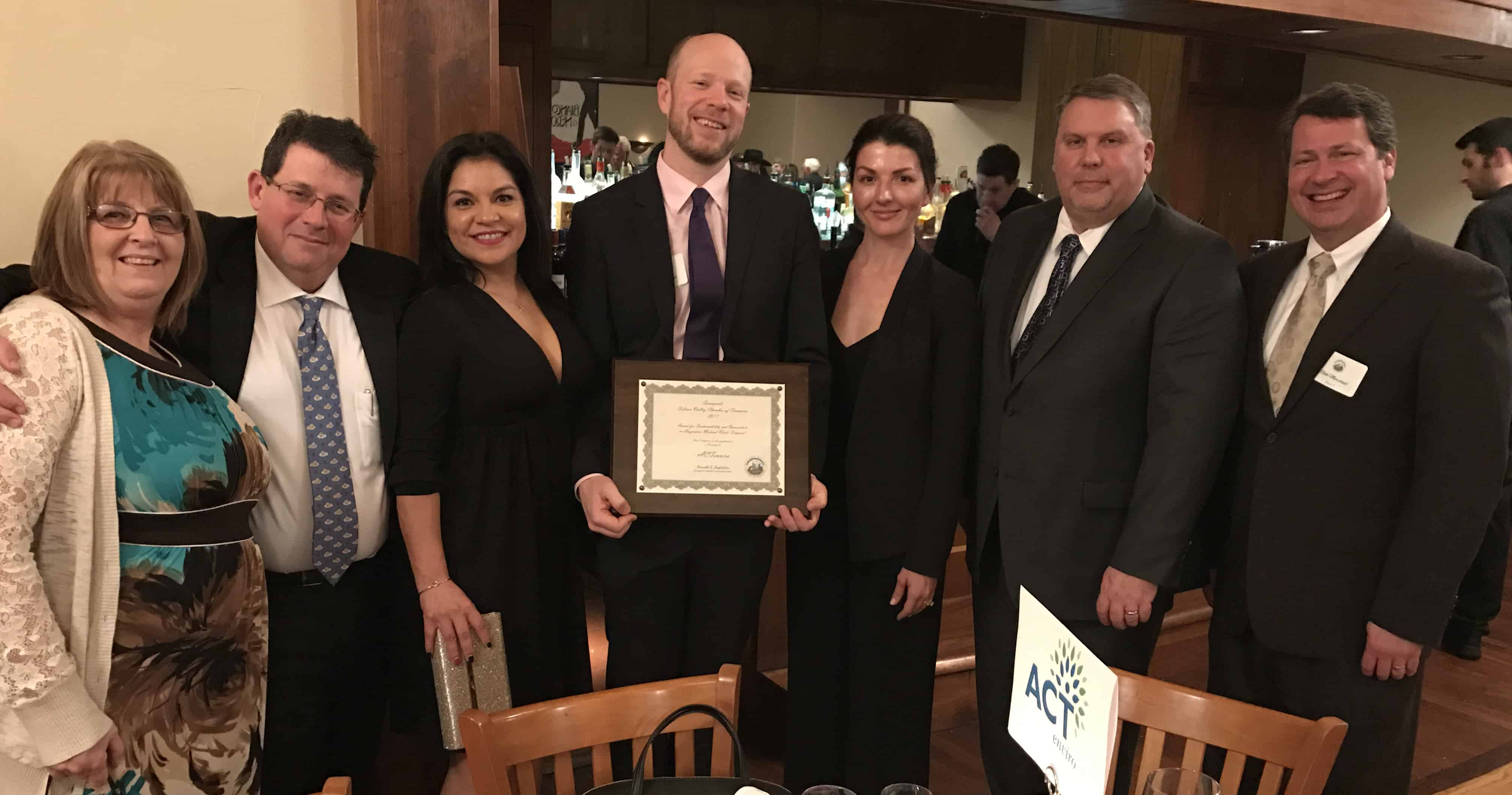 ACT Receives A Murphy Award From The Sunnyvale Silicon Valley Chamber Of Commerce!