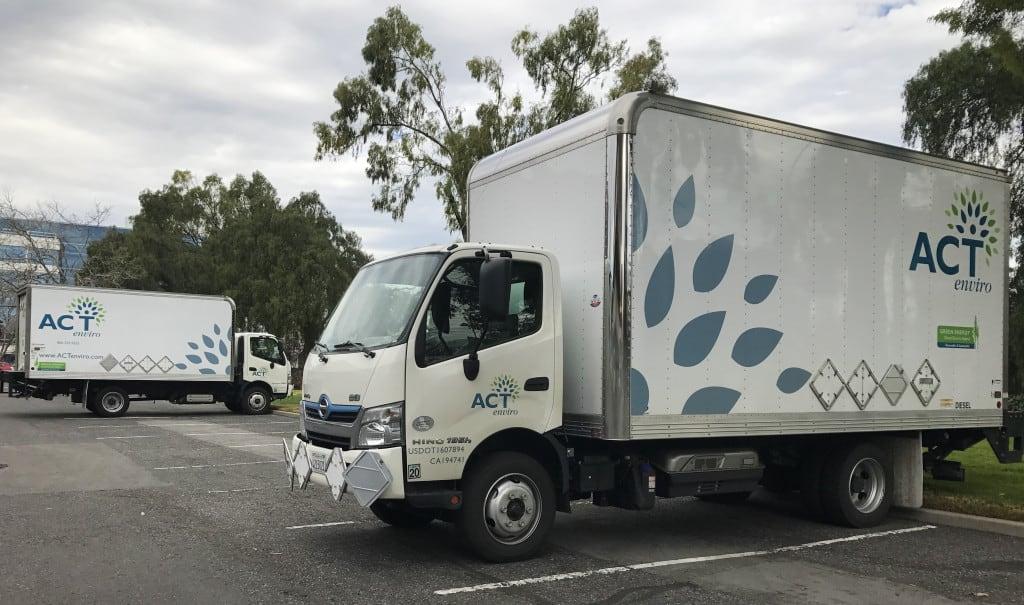 ACTenviro Two Diesel-Electric Hybrids.