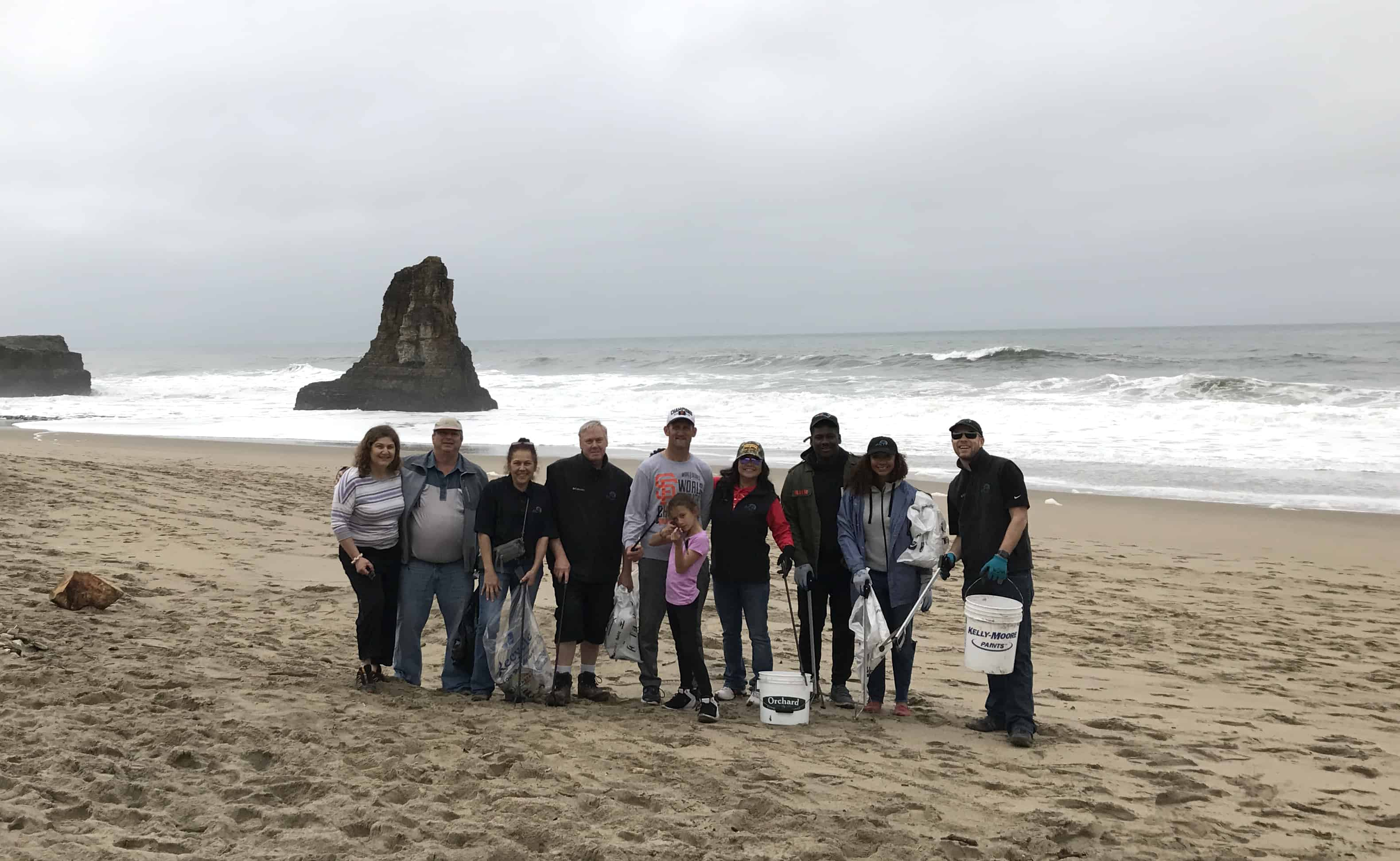 Davenport Beach Cleanup Team