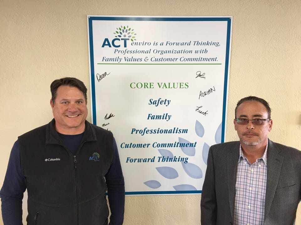 John And Dean - Core Values Sign ACT