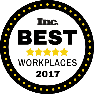 Inc Best Workplaces 2017